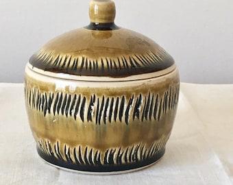 Porcelain Jar. Carved Pottery. Small Keepsake Jar. Ceramic Jar with Lid. Ceramic Box. Wheel Thrown Pottery. Handmade Ceramics. Lidded Jar