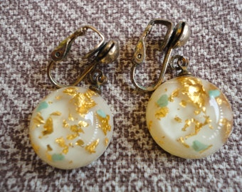 Vintage Confetti Earrings