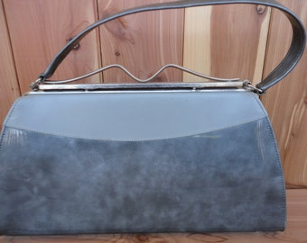 Shades of Gray Vintage Purse