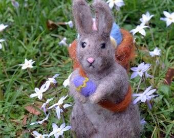 Needle Felted Easter Bunny Rabbit