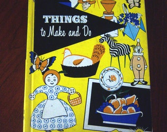 1950's Activities and Crafts Book
