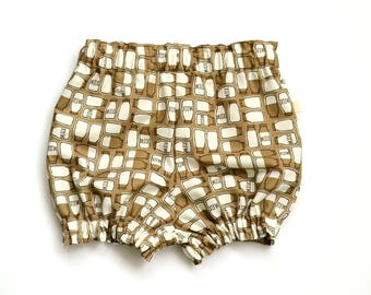 Chocolate Milk - Bloomers - Shorts - Diaper Cover - Shortys - Baby Shorts - Toddler shorts - Baby Boy bloomers - Baby Girl Bloomer