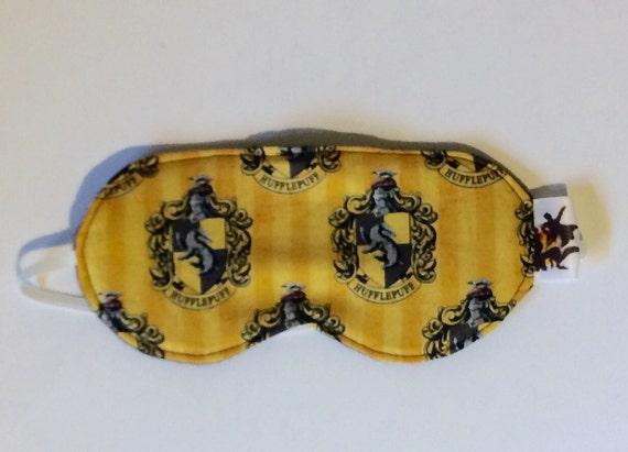 Hufflepuff Sleep Mask, Harry Potter Sleep Mask, Harry Potter Eyemask