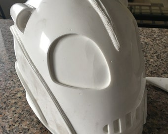 Rocketeer Helmet - Cast Resin Mold with Fin