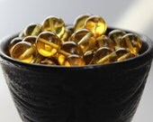 Amber Beads, Dominican Yellow Amber