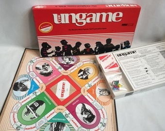 The Ungame 1989 Vintage Board Game, The World's Most Popular Self Expression Game, Made in USA