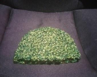 Newborn Shades of Green Hat
