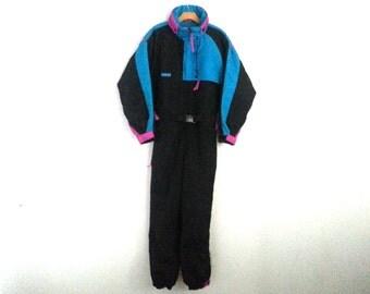 Rad Vintage 90s Columbia Ski Color Block Large