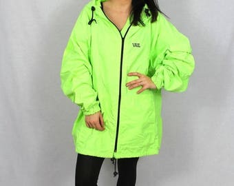 Vintage Neon Windbreaker. Have a Defect!