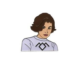 Twin Peaks  Audrey Horne Enamel Pin