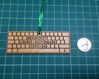 Computer Keyboard Ornament