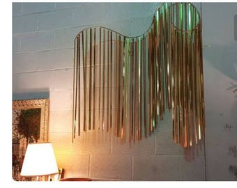 C. Keer (unsigned) Undulating Wave Wall Hanging