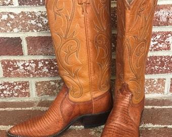 Gorgeous Dan Post Snakeskin Western Boots