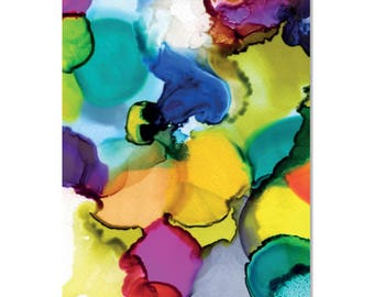 Rainbow Puddles Wrapping Paper | Made in Australia