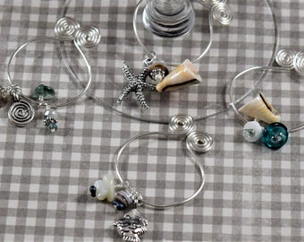 Spiral and Wire Charms
