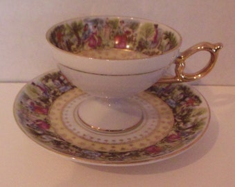 China Cup and Saucer Collector Item