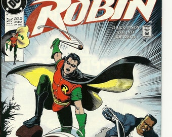 DC Robin #3 of 5 Comic Book March 1991 VF Condition