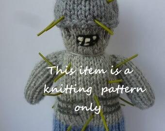PDF knitting pattern: Winslow (The Walking Dead)