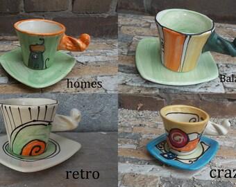 Espresso cup or mocha cup