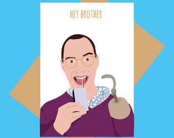 Arrested Development card - Buster - Hey Brother