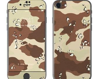 Desert Camo - iPhone 7/7 Plus Skin - Sticker Decal