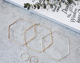 Hexagon Bracelet, Gold Thin Bracelet, Thin Gold Bracelet, Bracelet Gold, Gold Bracelet Thin, Gold Hexagon, Bracelet Hexagon, Thin Gold