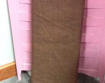 no. 1016 Chocolate brown Cool Weave Fabric by the Yard