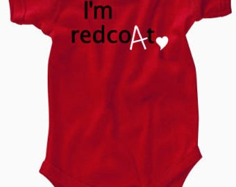"""FLASH SALE 20% OFF - Pretty Little Liars """"I'm Redcoat"""" Baby Bodysuit and Toddler T-Shirt"""