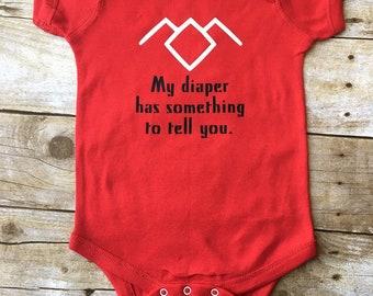 Twin Peaks Log Lady - Baby Bodysuit, Baby T-Shirt, Toddler T-Shirt