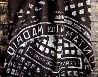 Bag print sewer cover