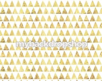 4ft x 4ft Marble Triangle geometric Photography Backdrop - Neutral Backdrop for Photos - Marble Backdrop for Food Photography - Item 3128