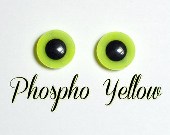 Eyechips 13 mm - color glow Yellow size Pullip models (Limited Edition)