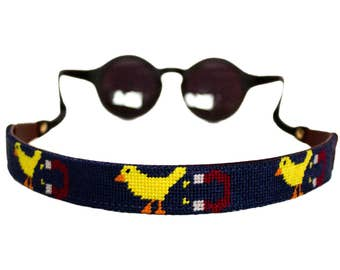 Chick Magnet Needlepoint Sunglass Strap