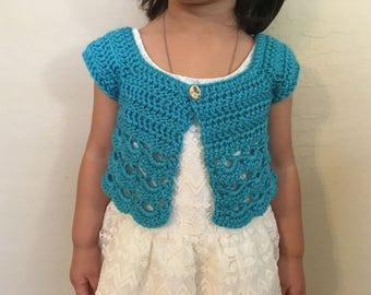 Little Girl Cardigan