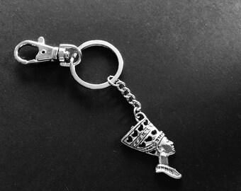 EGYPTIAN INSPIRED Key Ring Key Chain