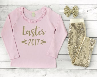 Baby Girl Easter Outfits for Girls Toddler Girl Easter Outfit 009