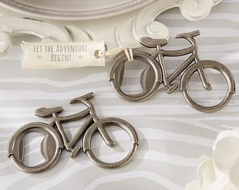 Bicycle Bottle Opener Let's Go On an Adventure, Bottle Opener Wedding Favors, Destination Wedding Favor (11192)