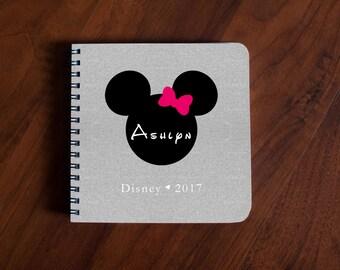 Disney Autograph Book Minnie Mouse - gray linen