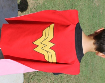 Child size wonder woman / batgirl cape