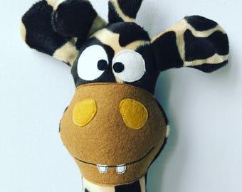 Stuffed animal giraffe Rüdiger Rübchen