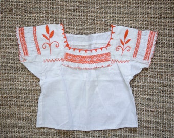 handmade Mexican Toddler Blouse