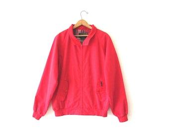 Vintage 1990s EDDIE BAUER Plaid Jacket Sz L