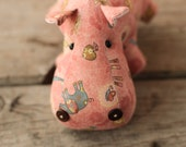 toy hippo stuffed animal game for child home decor