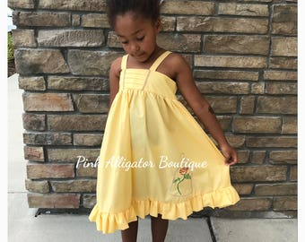 Yellow Belle Dress - RUSH delivery available