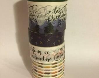Washi tape sample: travel #3