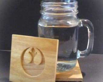 Star Wars Rebel Crest Coasters (4 coasters)
