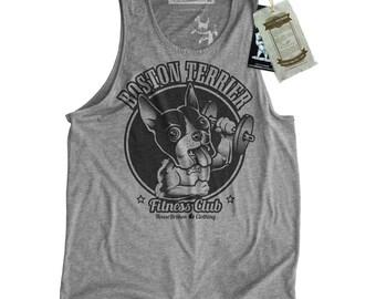 Boston Terrier Shirt - Men's Gym Tank Top