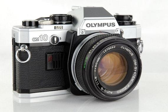 Olympus OM 10 SLR Camera with 50mm 1.8 Lens - Vintage Camera - Film Photography