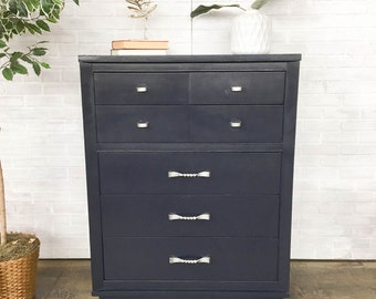 AVAILABLE: Navy Painted Chest