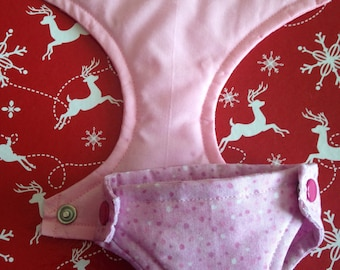 """Dolly Diapers 11 to 13"""" Pink collection"""